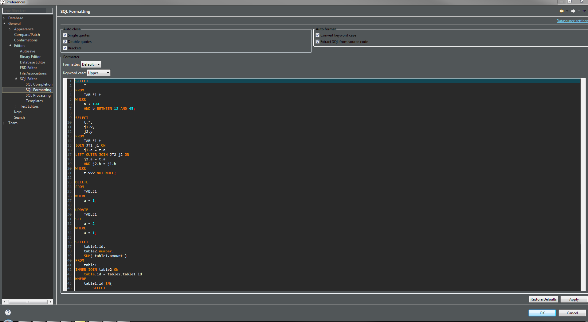 Sql server management studio dark theme